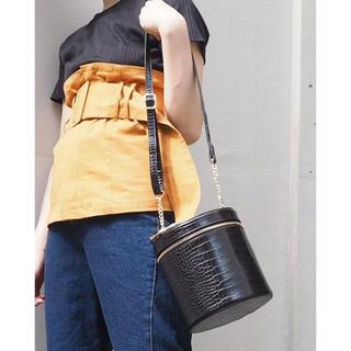 ムルーア(MURUA)のBIG RING BOX BAG(ショルダーバッグ)