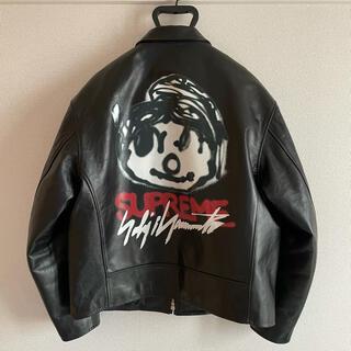 シュプリーム(Supreme)のSupreme Yohji Yamamoto leather jacket M(レザージャケット)