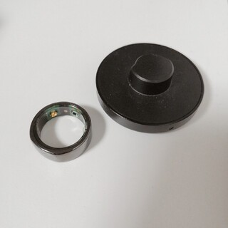 oura ring US8 black オーラリング 8号 黒(リング(指輪))