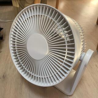 ムジルシリョウヒン(MUJI (無印良品))の無印 サーキュレーター(低騒音ファン)・ホワイト 型番:MJ‐CF18JP‐W(扇風機)