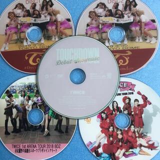 ウェストトゥワイス(Waste(twice))のTWICE 日本語バージョン DVD 5枚セットTWICE カラオケで練習の方用(ミュージック)