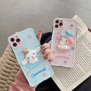 サンリオ(サンリオ)の新品 iphoneケース シナモン iphone8 3D サンリオ(iPhoneケース)