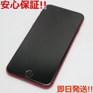 アイフォーン(iPhone)の美品 DoCoMo iPhone8 64GB レッド 白ロム(スマートフォン本体)