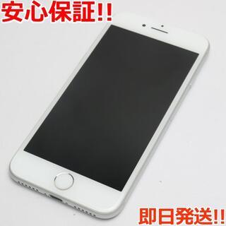 アイフォーン(iPhone)の美品 SOFTBANK iPhone8 64GB シルバー (スマートフォン本体)
