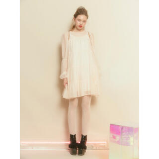 Honey mi Honey - honeymihoney ♡ chiffon tiered one-piece