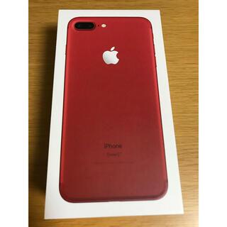 アップル(Apple)のiPhone 7 Plus Red 128 GB SIMフリー(スマートフォン本体)
