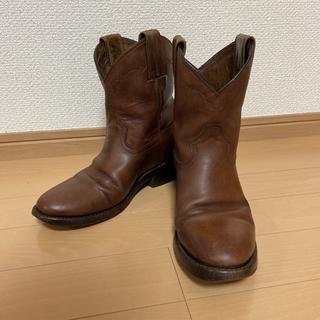 カイラニ(Kai Lani)のモンタナ カイラニ ショートブーツ エンジニアブーツ ブラウン 23.5(ブーツ)