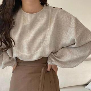Kastane - lawgy original shoulder button blouse