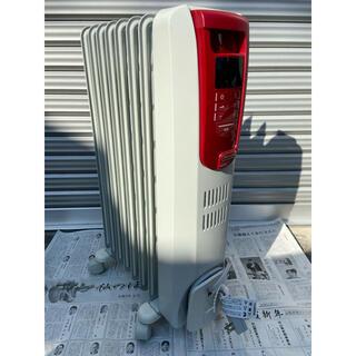 デロンギ(DeLonghi)のデロンギ KHD410812-RD 希少カラー!✨美品 全国送料無料‼️(オイルヒーター)
