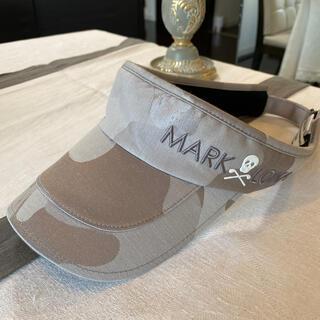 マークアンドロナ(MARK&LONA)のMARK&LONA🧢サンバイザー⛳️ゴルフメンズ(ウエア)