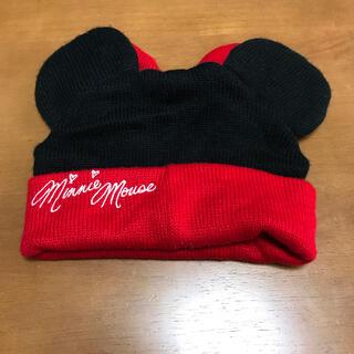 ディズニー(Disney)のミニー ニット帽(ニット帽/ビーニー)
