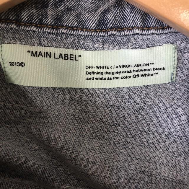 OFF-WHITE(オフホワイト)のoff-white デニム ジャケット メンズのジャケット/アウター(Gジャン/デニムジャケット)の商品写真