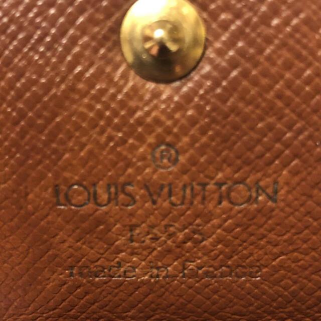 LOUIS VUITTON(ルイヴィトン)のLOUIS VUITTON ルイ ヴィトンミュ 4モノグラム キーケース 正規品 レディースのファッション小物(キーケース)の商品写真