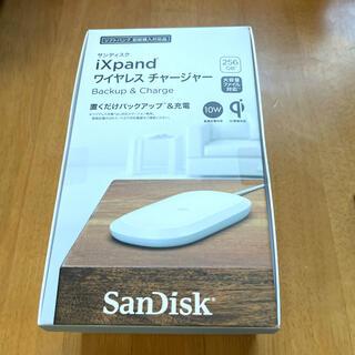 サンディスク(SanDisk)のワイヤレスチャージャー&バックアップ256GB最終値下げ(バッテリー/充電器)