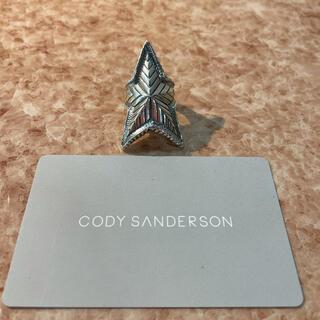 コディサンダーソン デップ スター リング 11号(リング(指輪))