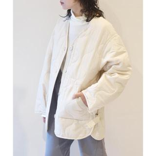 ダブルクローゼット(w closet)のw closet ひょうたんキルトジャケット(ミリタリージャケット)
