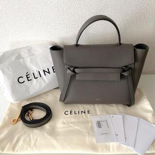 celine - CELINE セリーヌ ベルトバッグ マイクロ