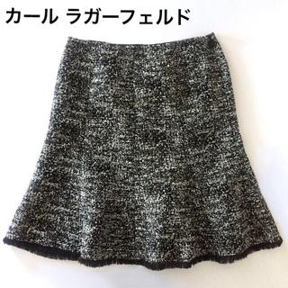 カールラガーフェルド(Karl Lagerfeld)のカールラガーフェルド ツイード スカート (ミニスカート)