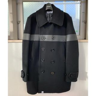 FRAGMENT - SEQUEL P-COAT BLACK BLACK PRINT Pコート