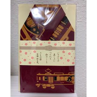 阪急電車 京とれいん雅洛 日本てぬぐい(鉄道)