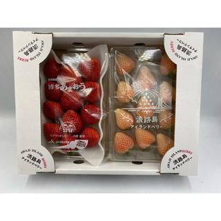 はは様専用❗️苺食べ比べ 博多あまおう淡路島アイランドベリー✖️5 ルナピエナ2(フルーツ)