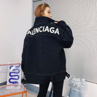 Balenciaga - 美品 BALENCIAGA ラムウールコート