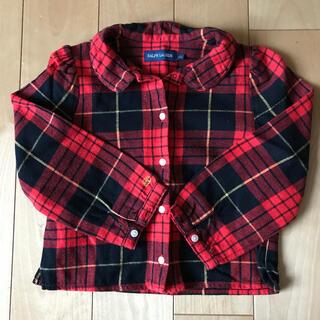 ラルフローレン(Ralph Lauren)の美品!ラルフローレン 女の子 チェックシャツ 100(ブラウス)