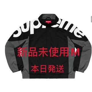 シュプリーム(Supreme)のSupreme Shoulder Logo Track Jacket Black(ナイロンジャケット)