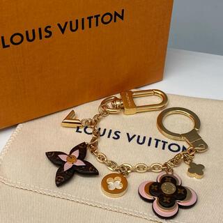 LOUIS VUITTON - 新品ヴィトン チャーム M63086ピジューサックシエンヌ ブルーミングフラワー