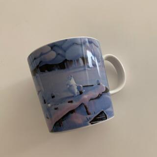 アラビア(ARABIA)のアラビア ARABIA ムーミンマグカップ ムーミンバレー真冬のご先祖さま 新品(マグカップ)
