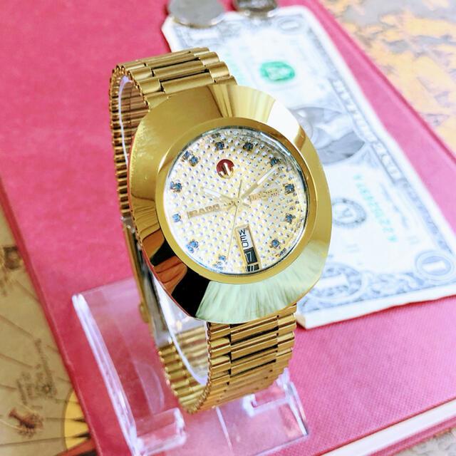 RADO(ラドー)の#1094【高級感がお洒落】メンズ腕時計 ラドー RADO ダイヤスター  メンズの時計(腕時計(アナログ))の商品写真