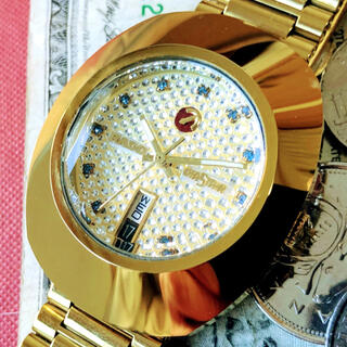 ラドー(RADO)の#1094【高級感がお洒落】メンズ腕時計 ラドー RADO ダイヤスター (腕時計(アナログ))