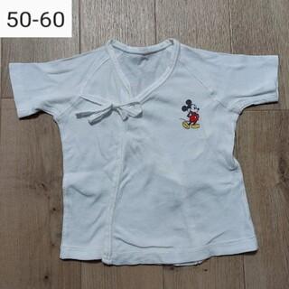 ディズニー(Disney)のミッキーマウス 短肌着(肌着/下着)