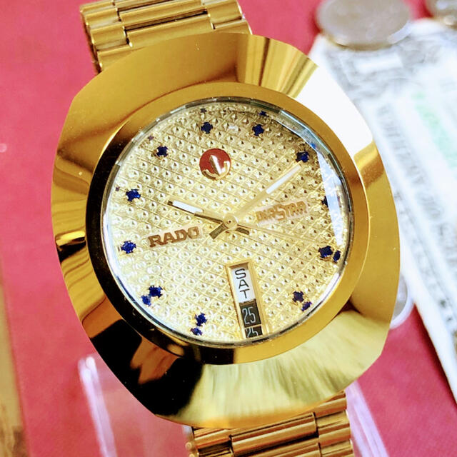 RADO(ラドー)の#1095【高級感がお洒落】メンズ腕時計 ラドー RADO ダイヤスター  メンズの時計(腕時計(アナログ))の商品写真
