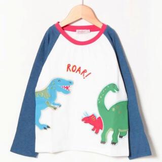 Cath Kidston - キャスキッドソン 刺繍 ロンT  4-5歳 恐竜 未使用