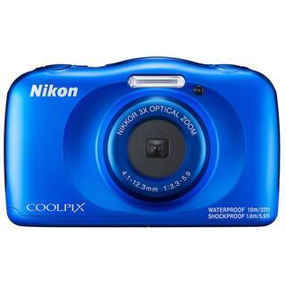 新品未開封 COOLPIX W150 ブルー(ビデオカメラ)