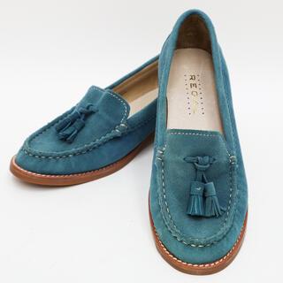 リーガル(REGAL)の【未使用】REGAL リーガル タッセルスエードローファー 23.5cm(ローファー/革靴)