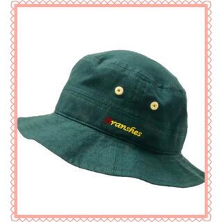 ブランシェス(Branshes)の緑 グリーン ブランシェス キャップ 帽子 ハット 赤ちゃん ベビー(帽子)