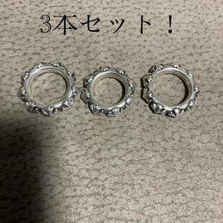 クロムハーツ(Chrome Hearts)のクロムハーツ Chrome Hearts クロスバンドリング(リング(指輪))