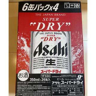 アサヒ - アサヒスーパードライ 350ml×24本 1箱