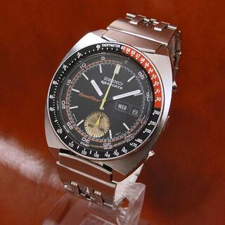 セイコー(SEIKO)の【OH済み】セイコー ファイブスポーツ スピードタイマー 6139 コークベゼル(腕時計(アナログ))