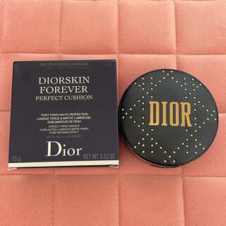 Christian Dior - ディオールスキン フォーエヴァー クッション 010 限定品