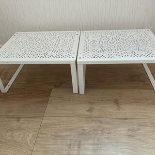 イケア(IKEA)のIKEA イケア VARIERA シェルフインサート(キッチン収納)