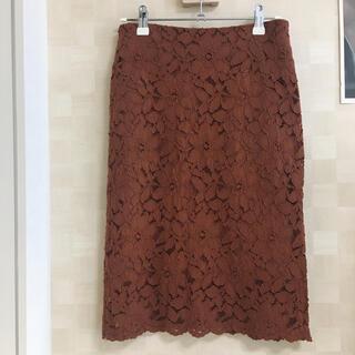 アンティックラグ(antic rag)のレースタイトスカート(ロングスカート)
