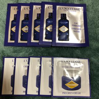 L'OCCITANE - ロクシタン✴︎IM化粧水5枚&クリーム5枚サンプル