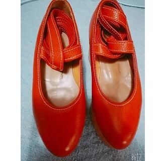 ヴィヴィアンウエストウッド(Vivienne Westwood)のロッキンホース 赤(ローファー/革靴)