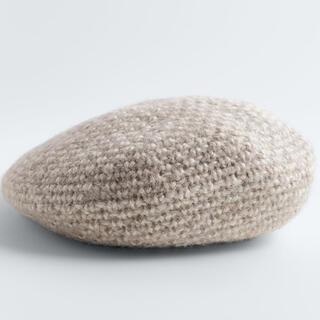 ザラ(ZARA)のZARA ウール混ベレー帽 ザラ(ハンチング/ベレー帽)