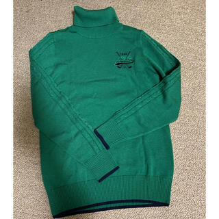 アディダスゴルフ タートルネックセーター Sサイズ(ウエア)