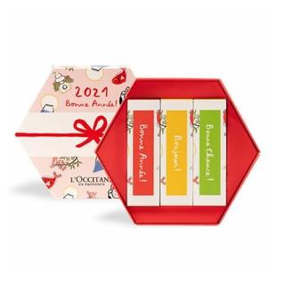 ロクシタン(L'OCCITANE)の週末お値下げ♡ロクシタン 「2021 ハンドクリームトリオ」(ハンドクリーム)