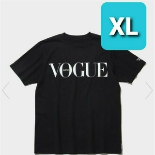 FRAGMENT - THE CONVENI VOGUE MAGAZINE TEE black XL